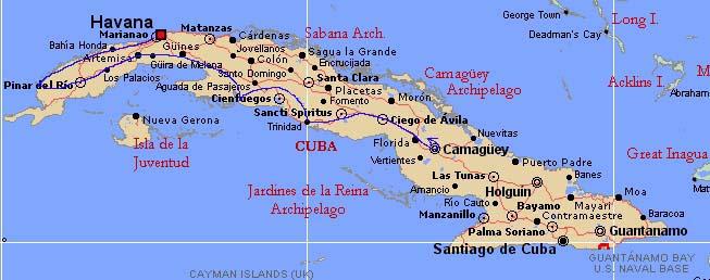 Circuit Cuba. Free Western Cuba Circuit With Circuit Cuba. Cuba U